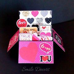 Smile Decors Handmade Pop Up Card