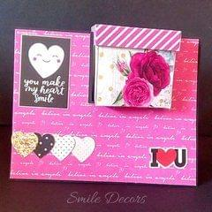 Smile Decors Handmade Box In A Card