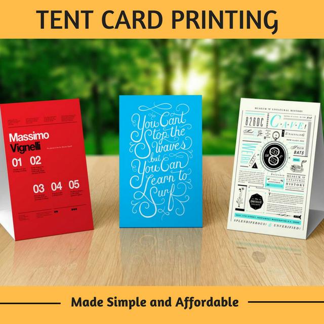 Kadaiveedhi Printing - Tent Cards