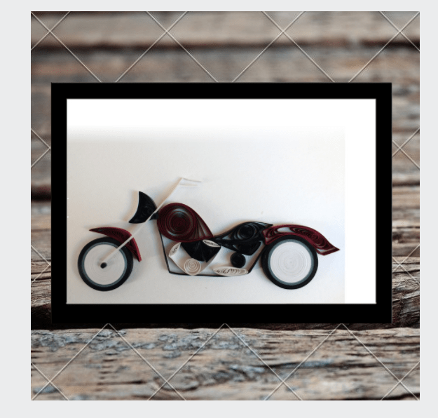 Kadaiveedhi Quilled Bike
