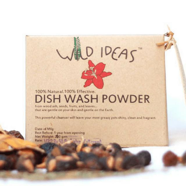 Wild Ideas Dish Wash Powder 400g