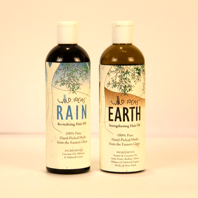 Wild Ideas Hair Oils - Earth and Rain