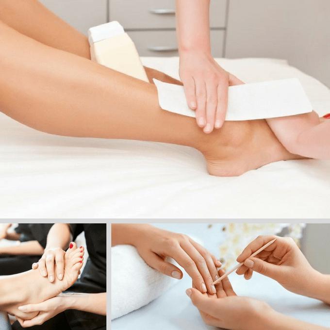 Kadaiveedhi Beauty Just Hands and Legs