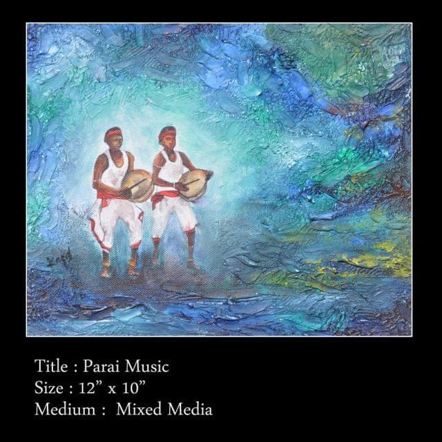 Kadaiveedhi Arts Parai Music - with Frame