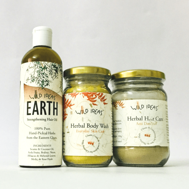 Wild Ideas Daily Body and Hair Care Kit