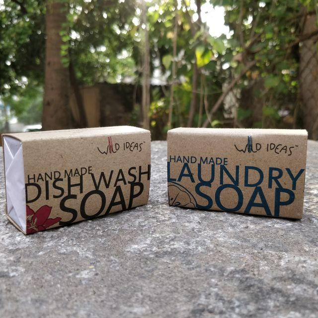 Wild Ideas Dish Wash Bar and Laundary Bar Soap