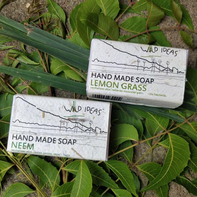 Wild Ideas Soaps Lemongrass and Neem Combo