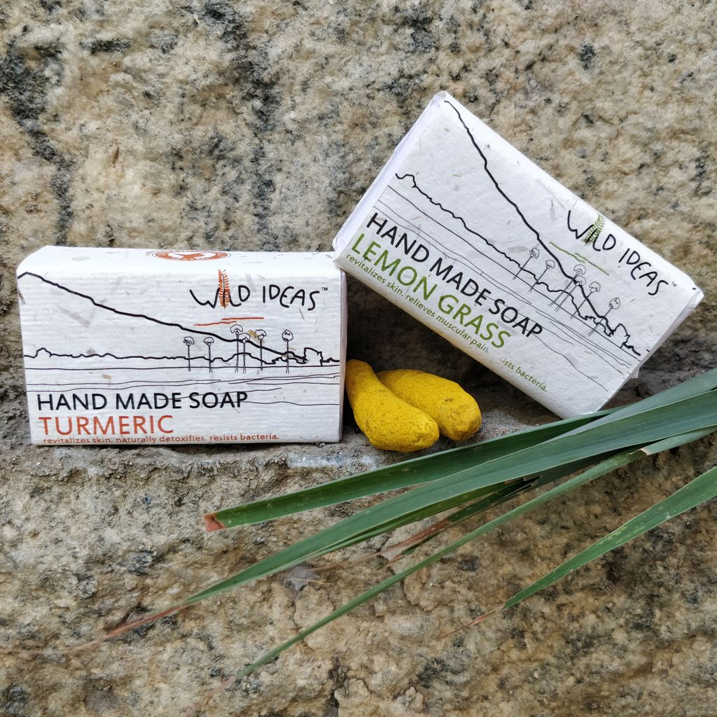 Wild Ideas Soaps Lemongrass and Turmeric Combo