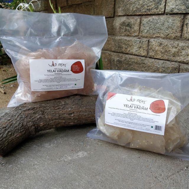 Wild Ideas Organic Yelai Vadam - Varagu (Kodo Millet) and Red Rice Combo
