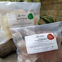 Wild Ideas Organic Yelai Vadam - White Rice and Red Rice Combo
