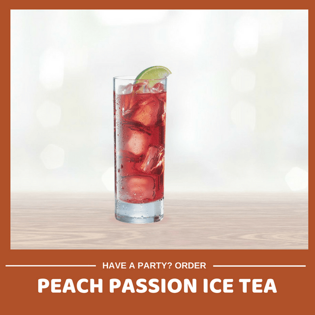 Refreshing Peach Passion Ice Tea (Min order 30 units)