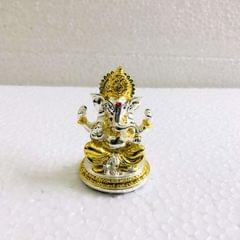 Smile Decors Two Tone Finish Ganesha Idol