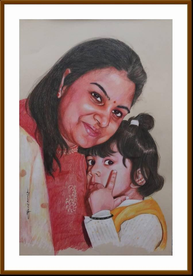 Kadaiveedhi Arts - Mom and Child