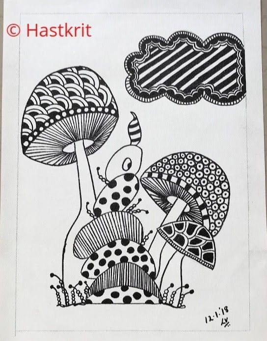 Hastkrit Mushrooms in the Rain