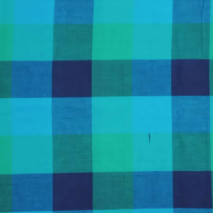 Aarika Cotton Running Material with Checked Prints