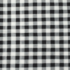 Aarika White Cotton Running Material with Checked Prints