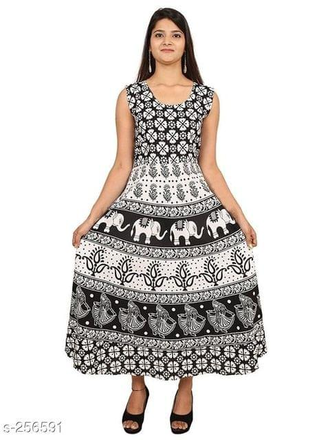 Aarika White Jaipuri Cotton Kurti