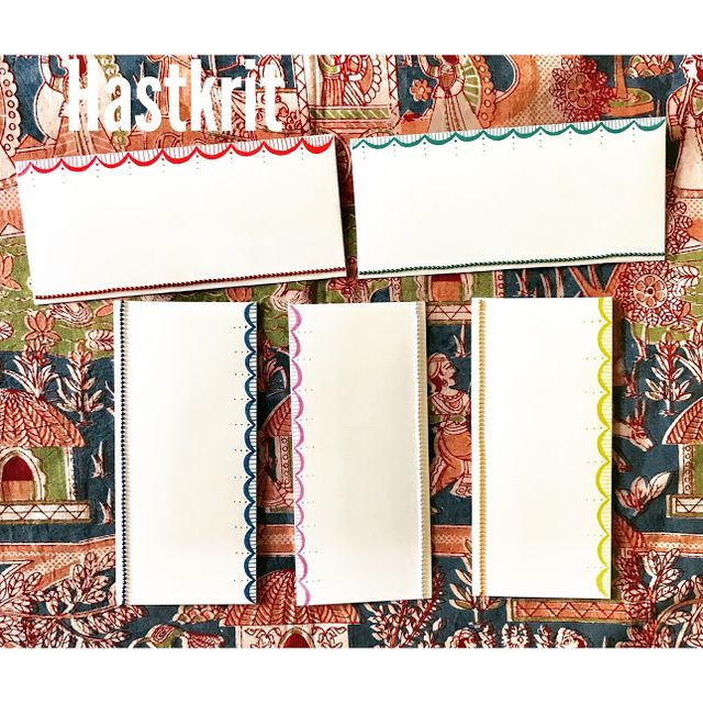 Hastkrit Crescent Border Shagun Envelopes