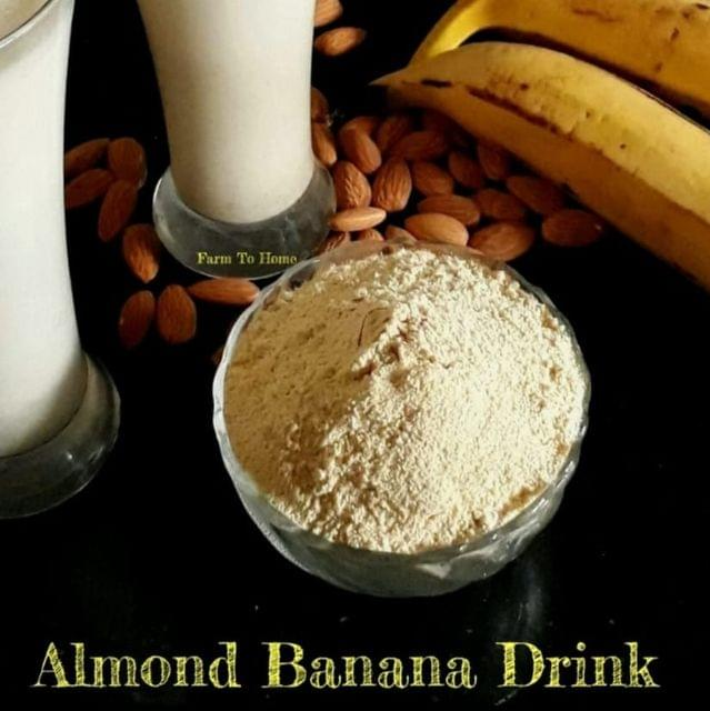 Farm To Home - Instant Almond Banana Drink (7 Month+)