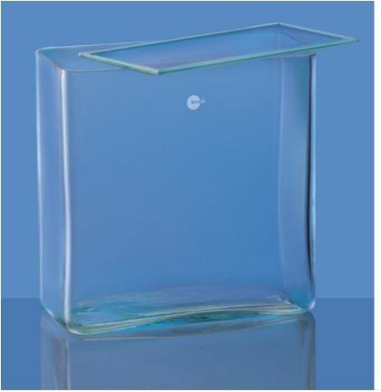 Borosil 6910M44 Rectangular Glass Jar