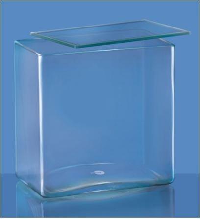Borosil 6920M45 S-Line Clear Glass Museum Jar