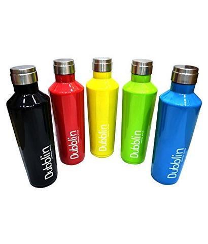 Dubblin Vacuum Thermosteel Bottle Spring 600 ml
