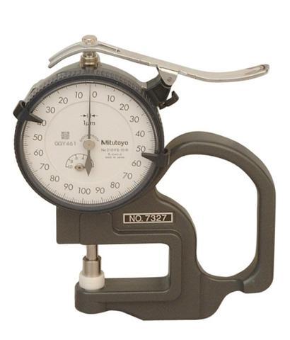 Mitutoyo Gauge 7327 Analog Dial Caliper ST21
