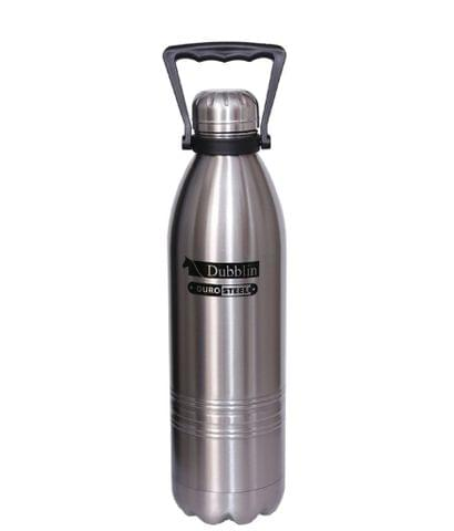 Dubblin Vacuum Thermosteel Bottle Kango 1500 ml Silver Kango1500silver