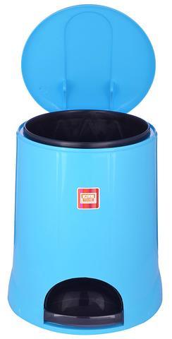 All Time Plastic Pedal Bin, 5 Litres, Blue 5LTRBLUE