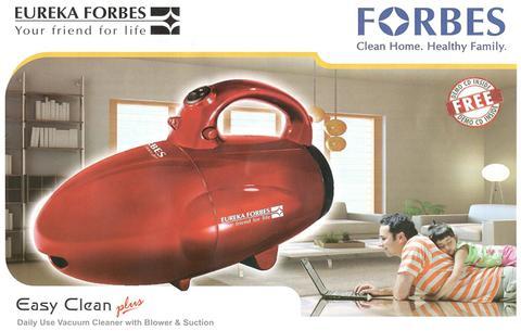 Eureka Forbes Easy Clean Plus 800-Watt Handheld Vacuum Cleaner (Metallic Red/Black) EF5008
