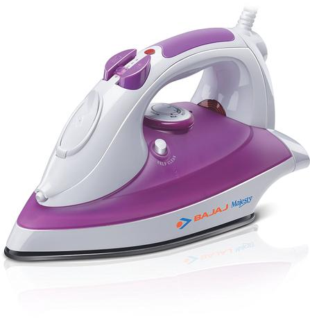 Bajaj Majesty Rave 1250 Watt Steam Iron White Purple