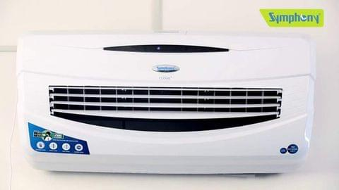 Symphony Cloud 15-Ltrs Room Air Cooler (White) - with Remote Control Symphony Cloud A