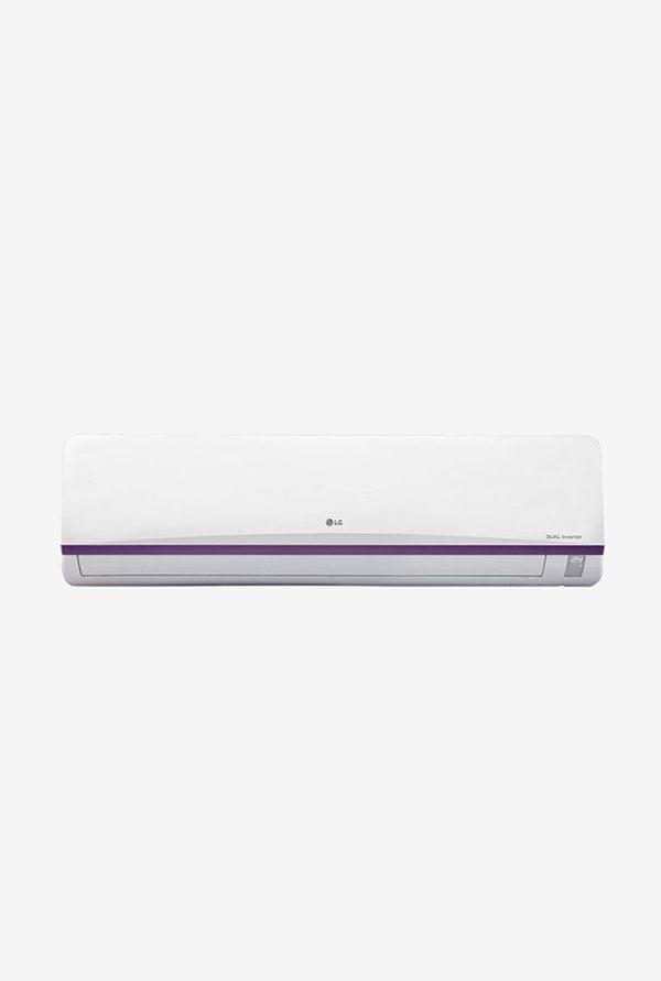 LG 1.0 Ton Inverter 3 Star (BEE Rating 2018) JS-Q12BUXD Split AC (White)