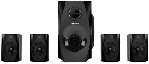 Philips SPA8150B/94 Multimedia Speaker 4.1 (Black)