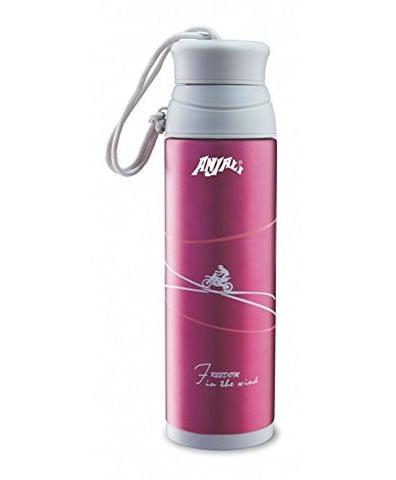 Anjali Vacuum Insulated Stainless Steel Flask Aqua 460ML (Multi Color) FBASTA46