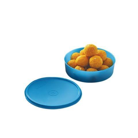 Cello Max Fresh Universal Polypropylene Container, 650ml/16.6cm, Blue A063-Blue