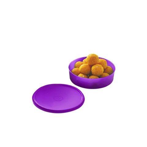 Cello Max Fresh Universal Polypropylene Container, 650ml/16.6cm, Purple A063-Pur