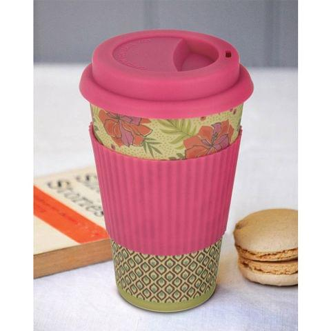 Freelance Bamboo Fibre Travel Mug, 400ml, Multicolour (EMJ012) FTC-EMJ012