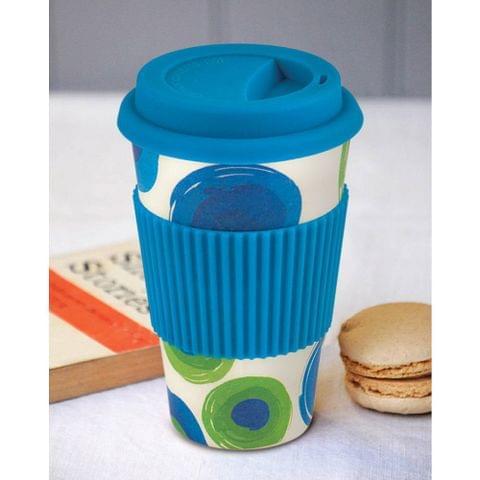 Freelance Bamboo Fibre Travel Mug, 400ml, Blue FTC-JH009BLUE