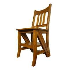 Solid Teak Chair-cum-Ladder