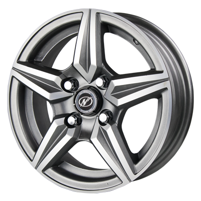 "NEO WHEELS DIAMOND 13"" ALLOY WHEEL"