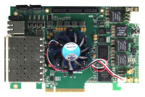 Stratix V GX Device Family - TR5-F40W FPGA Development Kit