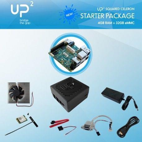 UP Squared-Celeron-4GB-32GB-PACK