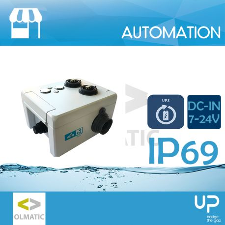 wiu 2 - waterproof mini-IPC + UPS