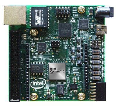 Intel® Cyclone® 10 LP FPGA Evaluation Kit