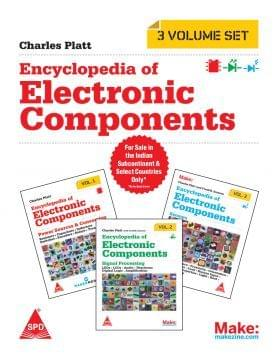 Make: Encyclopedia Of Electronic Components (3 Volume Set) (Grayscale Edition)