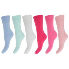 FLOSO Damen Thermo-Socken, 6-er Pack
