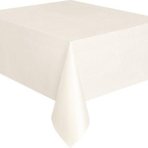 Tischdecke aus Kunststoff, wiederverwendbar in 19 verschiedenen Farben