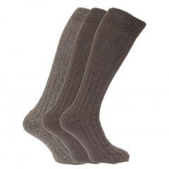Herren Socken mit gepolsterter Sohle, 3er-Pack
