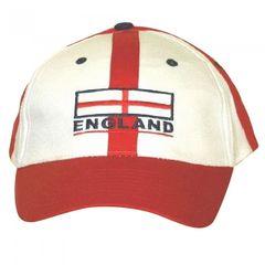 England Baseball Kappe mit verstellbarem Riemen